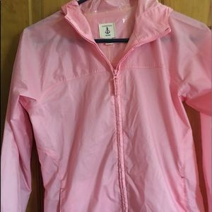 Girls Lands End rain jacket